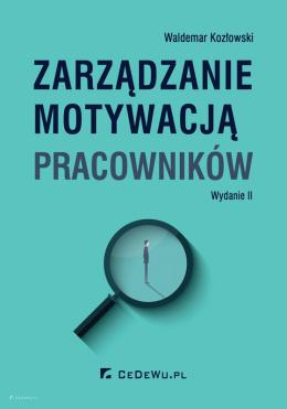 Wydawnictwo Cedewu Księgarnia Ekonomiczna Cedewupl Zarządzanie