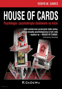 House of Cards. Psychologia i psychoterapia zbudowane na micie. - OUTLET